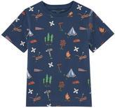 Stella McCartney Printed organic cotton T-shirt - Arrow