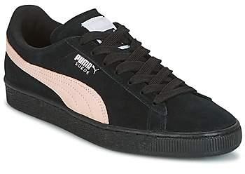 super popular b4dd9 c301e SUEDE CLASSIC W'S women's Shoes (Trainers) in Black