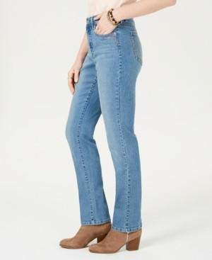 Style&Co. Style & Co Tummy-Control Straight-Leg Jeans, Created for Macy's
