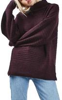 Topshop Women's Oversize Cocoon Sweater