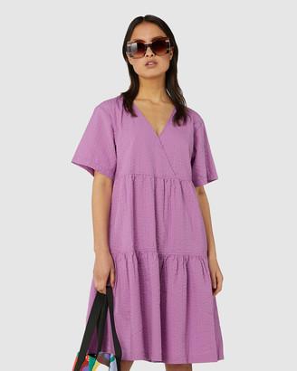 gorman Smock Wrap Dress