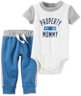 Carter's 2-Pc. Property of Mommy Bodysuit & Pants Set, Baby Boys (0-24 months)