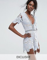 Missguided Premium Ladder Detail Romper