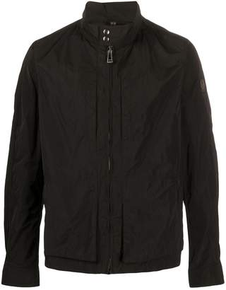Belstaff zipped stand up collar jacket