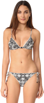 Zimmermann Divinity Ruffle Triangle Bikini Set
