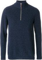 N.Peal - half zip cashmere jumper