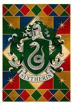 Harrods Harry Potter Slytherin House Crest Print