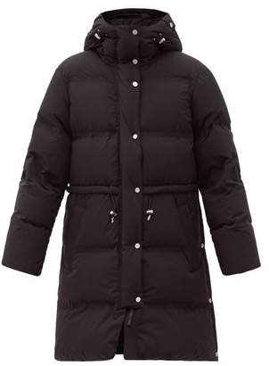 Aztech Mountain Galega Hooded Quilted-down Shell Coat - Black