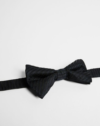 Ted Baker Plain Textured Bow Tie