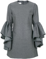 Marques Almeida Marques'almeida frill sleeves dress