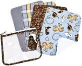 Trend Lab Cowboy Baby Burp Cloth Set