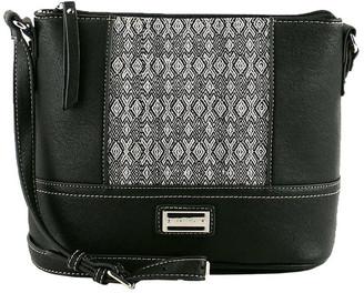 Cellini CSQ222 Erin Zip Top Crossbody Bag