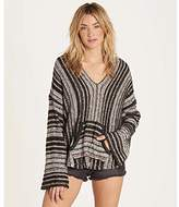 Billabong Women's Striped Baja Beach Sweater
