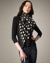 MARC by Marc Jacobs Dot-Print Scarf