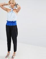 Sportmax Code Nicia Bow Jumpsuit