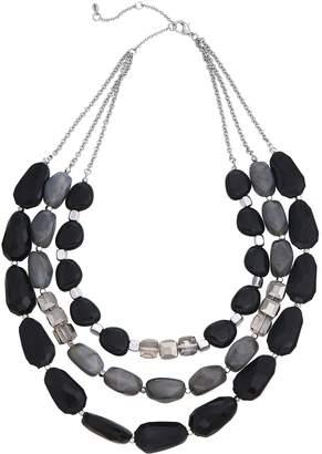 Sonoma Goods For Life SONOMA Goods for Life Multi-Stone 3-Row Statement Necklace