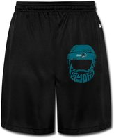 Funnyclothing San Jose Sharks 2016 Stanley Cup Playoffs Bound Bearded Men's Cotton Shorts Sweatpants