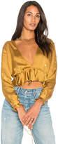 For Love & Lemons Twinkle Long Sleeve Blouse