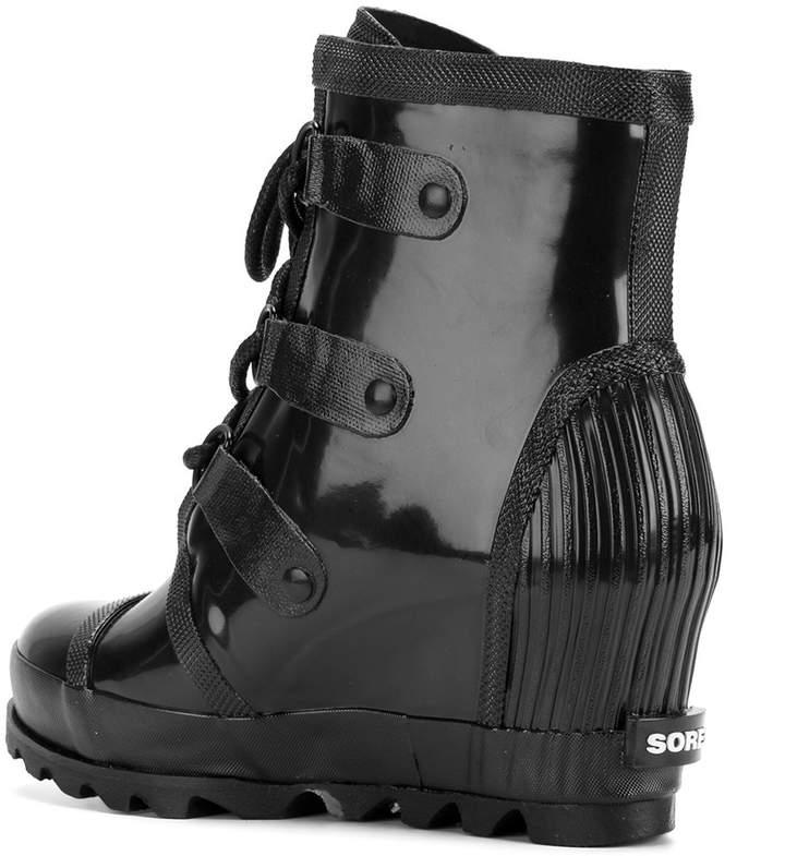 Sorel Joan rain-wedge boots