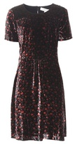 Vanessa Bruno Daria Floral-printed Velvet Dress