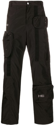 Heliot Emil Adjustable Pockets Cargo Trousers