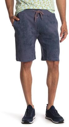 Public Opinion Print Knit Shorts