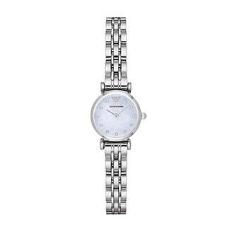 Emporio Armani Women's AR1961 Dress Silver Watch