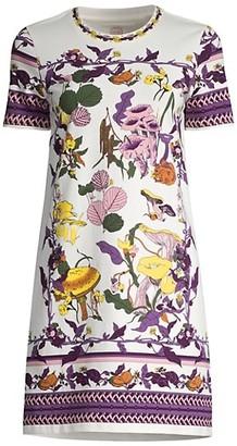 Tory Burch Mushroom Party T-Shirt Dress