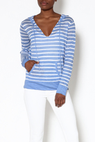 HIHO Blue Striped Sweater