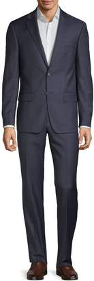 Calvin Klein Extra Slim Fit Solid Wool-Blend Suit