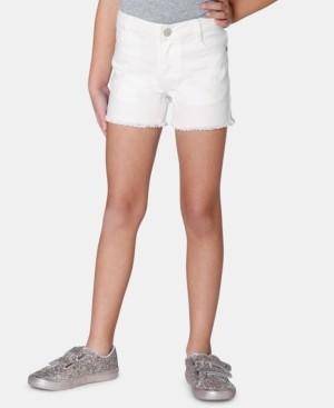 Epic Threads Toddler Girls Frayed-Hem Denim Shorts, Created for Macy's
