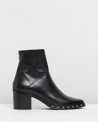 Jonak Dacca Leather Ankle Boots
