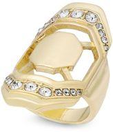 Thalia Sodi Gold-Tone Pavé Geometric Statement Ring, Created for Macy's