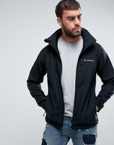 Columbia Cascade Ridge Ii Hooded Jacket Softshell In Black