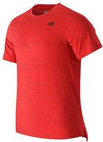 New Balance Men's Max Speed Short Sleeve Top