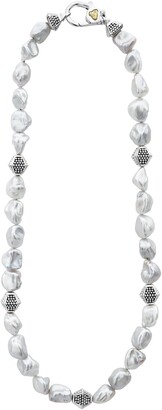 Lagos Luna Keshi Pearl Necklace