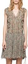 Zadig & Voltaire Deluxe Rimana Printed Silk Dress