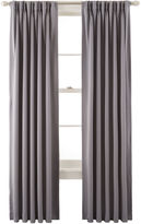 Liz Claiborne Kathryn Room-Darkening Pinch-Pleat/Back-Tab Curtain Panel