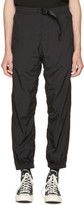 Alexander Wang Black Nylon Track Pants
