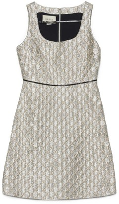 Gucci All Over Logo Jacquard Dress