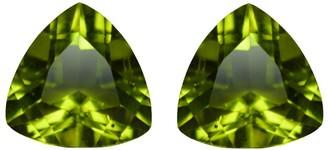 V3 Jewelry Natural 9mm Trillion-cut 4.5ctw Peridot Gemstone