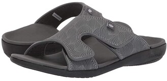 Spenco Kholo Wave Slide (Black) Women's Sandals
