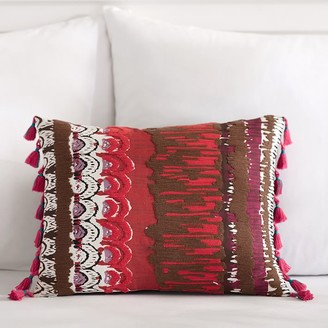 Pottery Barn Teen Painterly Printed Pillow Cover