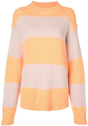 Tibi striped jumper