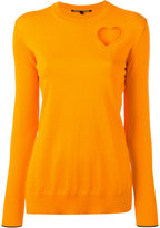 Proenza Schouler long sleeve sweater - women - Silk/Cotton/Polyester/Viscose - M