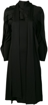 Koché Panelled Long Sleeved Dress