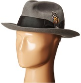 Stacy Adams Wool Felt Fedora w/ Grosgrain Band