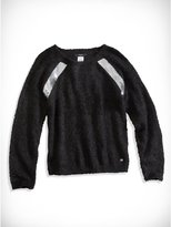 GUESS Big Girl Faux-Fur Sequined Sweater (7-16)