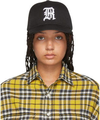 R 13 Black Logo Baseball Cap
