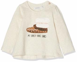 Ikks Junior Baby Girls' Tee Shirt Ml Chaussure Indienne T